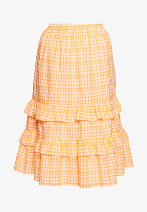 TRUDY SKIRT - Jupe trapèze - neon orange