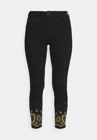 DENIM_BELGICA - Jeans Skinny Fit - black