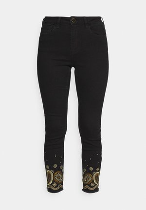 DENIM_BELGICA - Jeans Skinny - black