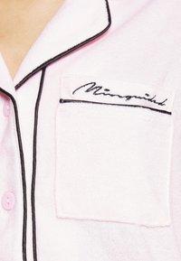 Missguided - TOWEL SHIRT LONG - Pyjamas - pink - 7