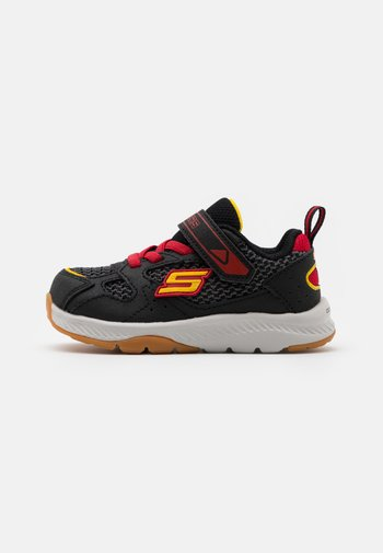 COMFY GRIP - Trainers - black/charcoal/red