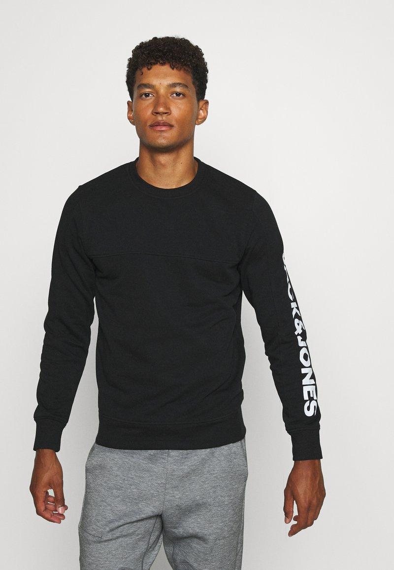 Jack & Jones - JCOMITCH CREW NECK - Sweatshirt - black