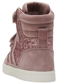 Hummel - STADIL GLITTER - High-top trainers - deauville mauve - 2