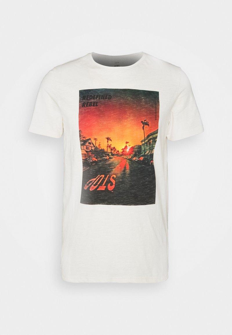 Redefined Rebel - AMARI TEE - Print T-shirt - pristine