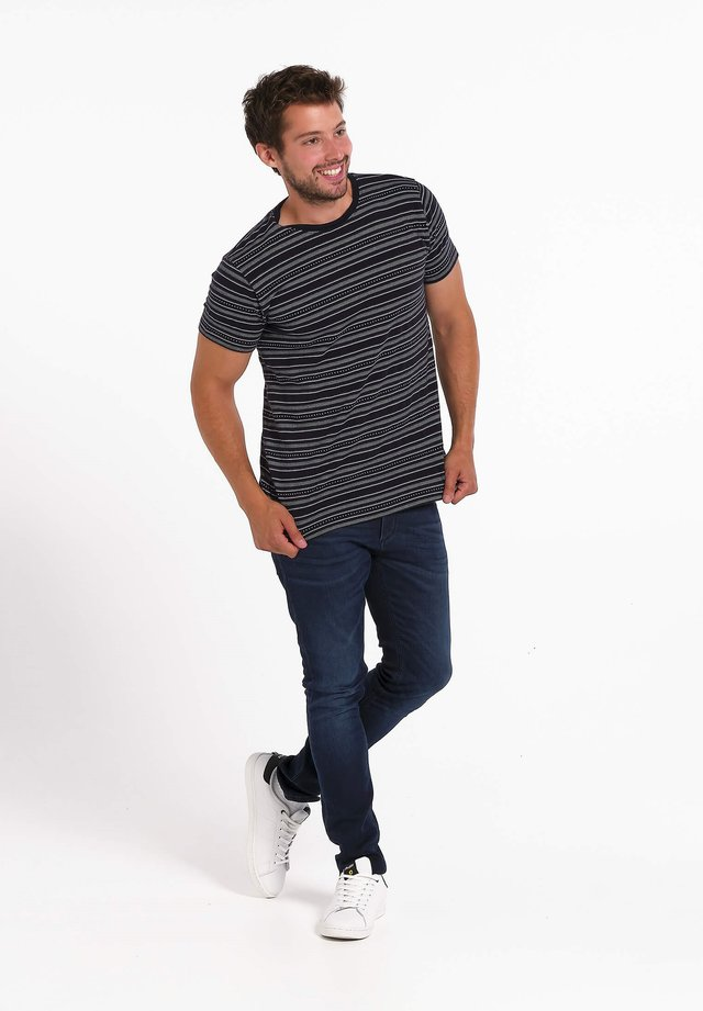 17 FJORD JACQUARD - T-shirt print - gris