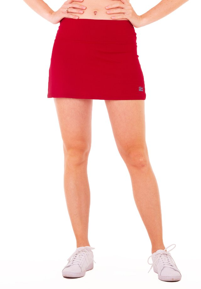 Sports skirt - bordeaux rot