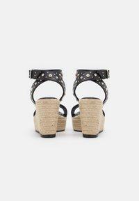 maje - Sandały na platformie - noir - 3