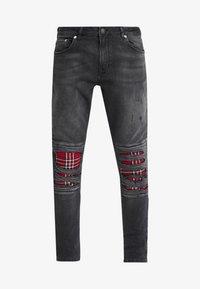 YOURTURN - Jeans Skinny Fit - black denim - 4