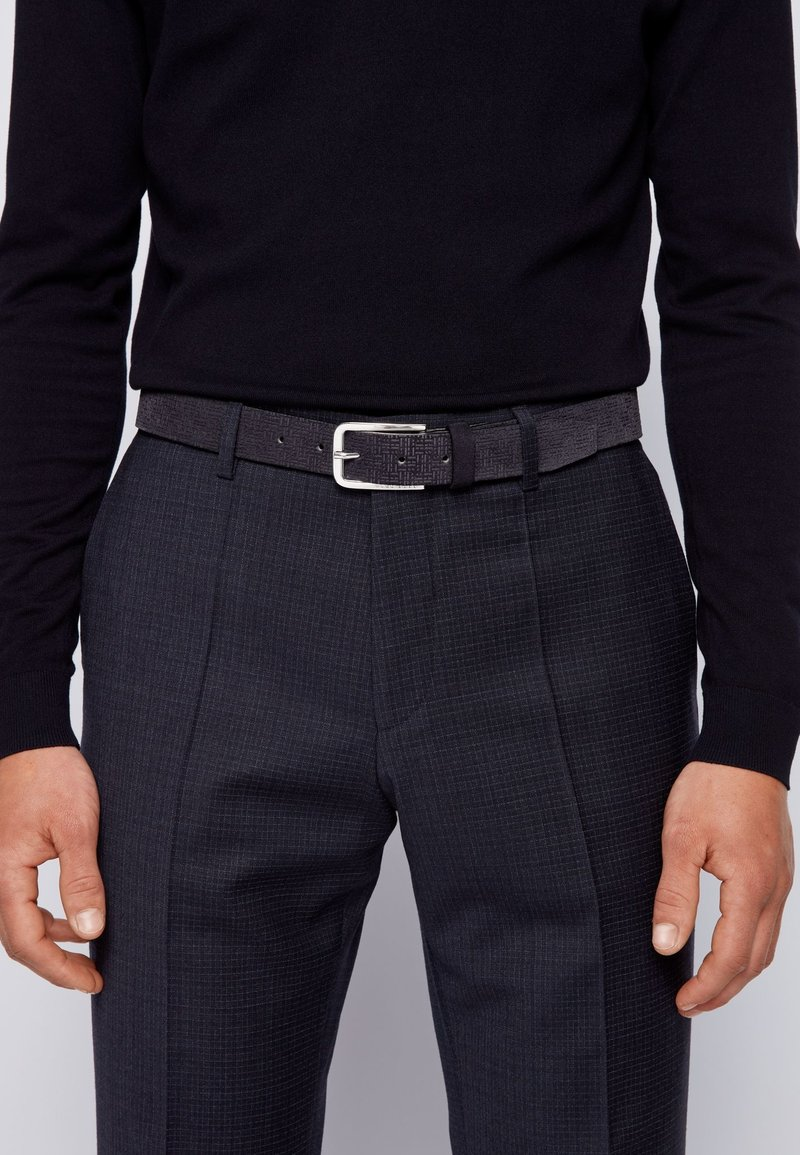 BOSS - CLORIO - Belt - dark blue