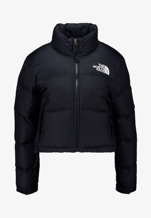 NUPTSE CROP - Down jacket - black