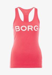 Björn Borg - CHAM TANK - Sports shirt - diva pink - 4