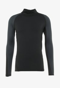 adidas Performance - ALPHASKIN ANTI-ODOR FABRIC CLIMAWARM - Långärmad tröja - black - 5