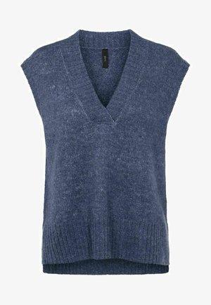 YASAPPLE - Waistcoat - dusty blue