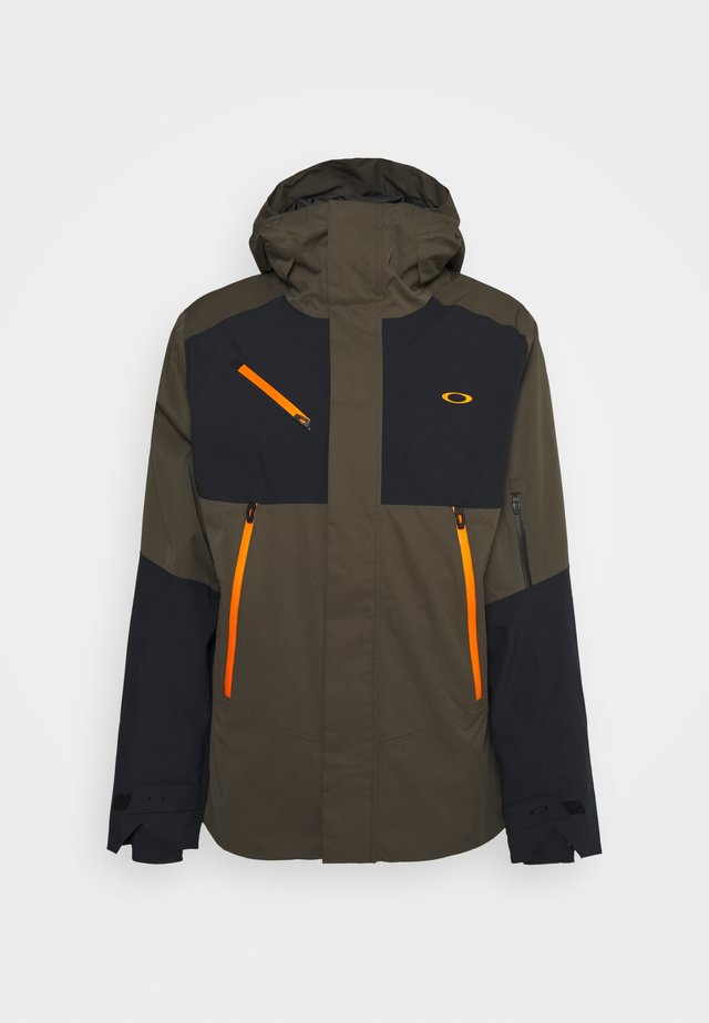 CRESCENT 3.0 SHELL JACKET - Snowboardjacka - new dark brush
