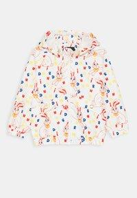 Mini Rodini - BABY RABBIT SPORTY JACKET UNISEX - Summer jacket - offwhite - 0
