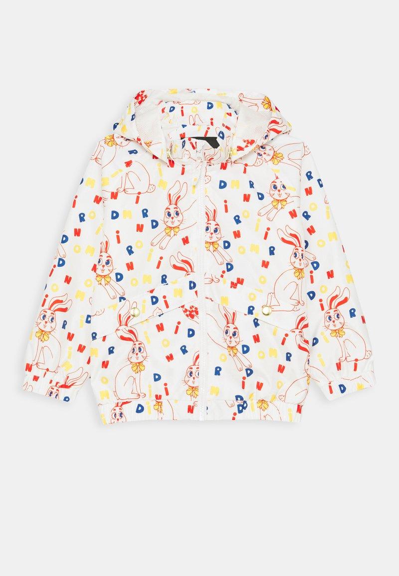 Mini Rodini - BABY RABBIT SPORTY JACKET UNISEX - Summer jacket - offwhite
