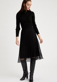 DeFacto - A-line skirt - black - 1