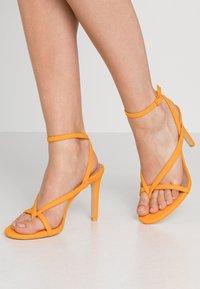 Call it Spring - ZELDAA - Sandalias de tacón - bright orange - 0