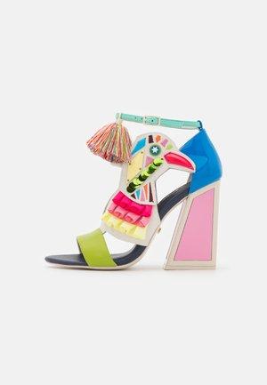 AYA - Sandaalit nilkkaremmillä - blue/multicolor