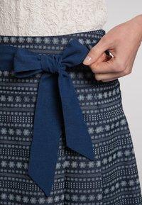 Spieth & Wensky - A-line skirt - dunkelblau - 4
