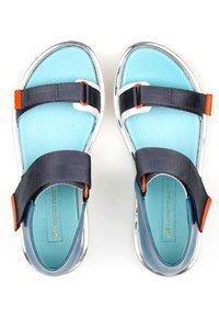 United Nude - VITA - Platform sandals - blue beat - 3