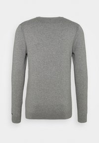 Calvin Klein Jeans - MONOGRAM CHEST LOGO  - Jumper - mid grey heather - 1