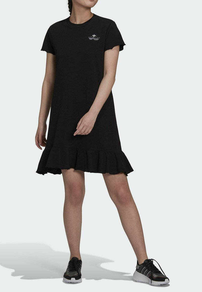 adidas Originals - Jersey dress - black