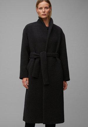 Płaszcz wełniany /Płaszcz klasyczny - pure black