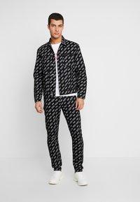 Calvin Klein Jeans - OMEGA JACKET - Džínová bunda - washed black - 1