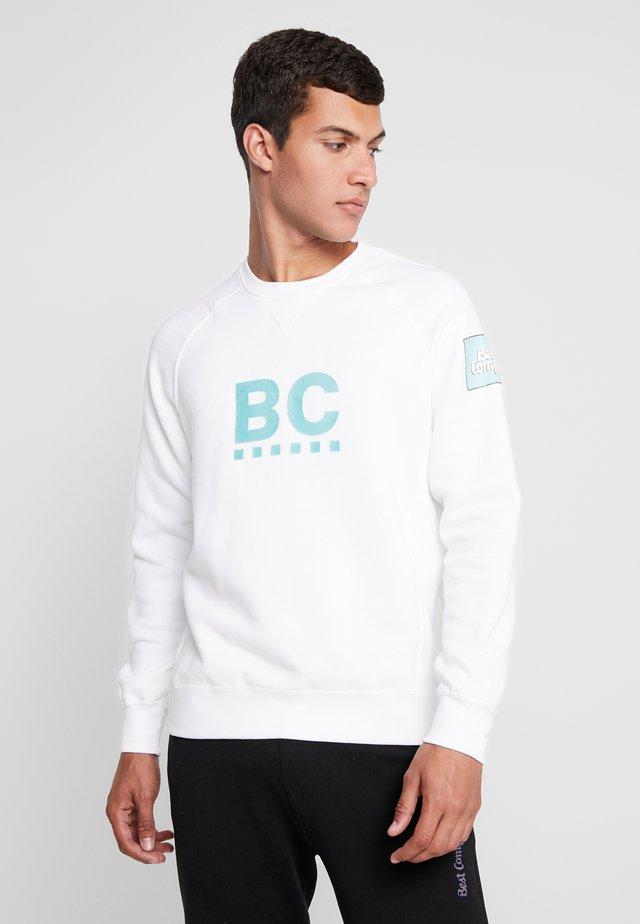 CREW NECK RAGLAN - Sweatshirt - bianco