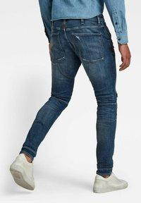 G-Star - 5620 3D ZIP KNEE SKINNY - Jeans Skinny Fit - faded ripped baltic sea - 1