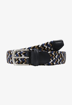 STRECH BELT UNISEX - Braided belt - multi-coloured