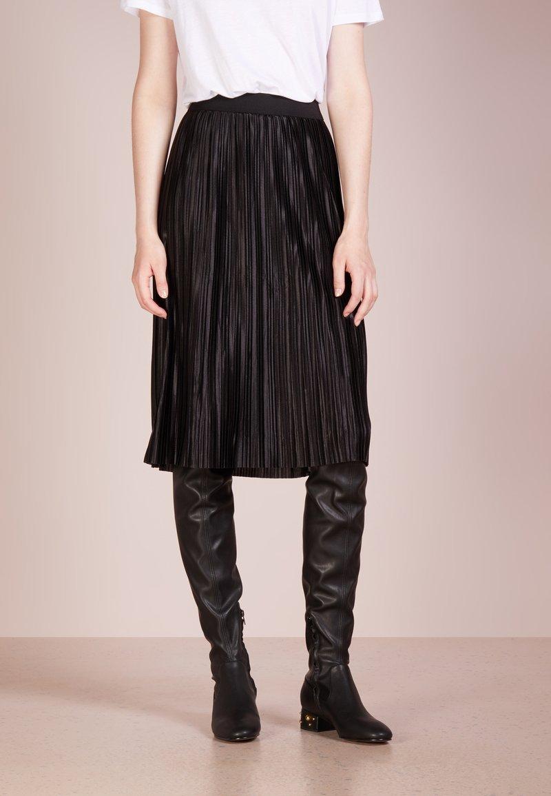 Bruuns Bazaar - PENNY CECILIE SKIRT - A-lijn rok - black