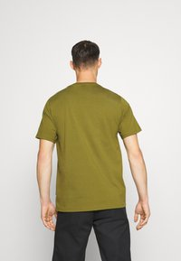Converse - STAR CHEVRON TEE - Print T-shirt - cypress green - 2