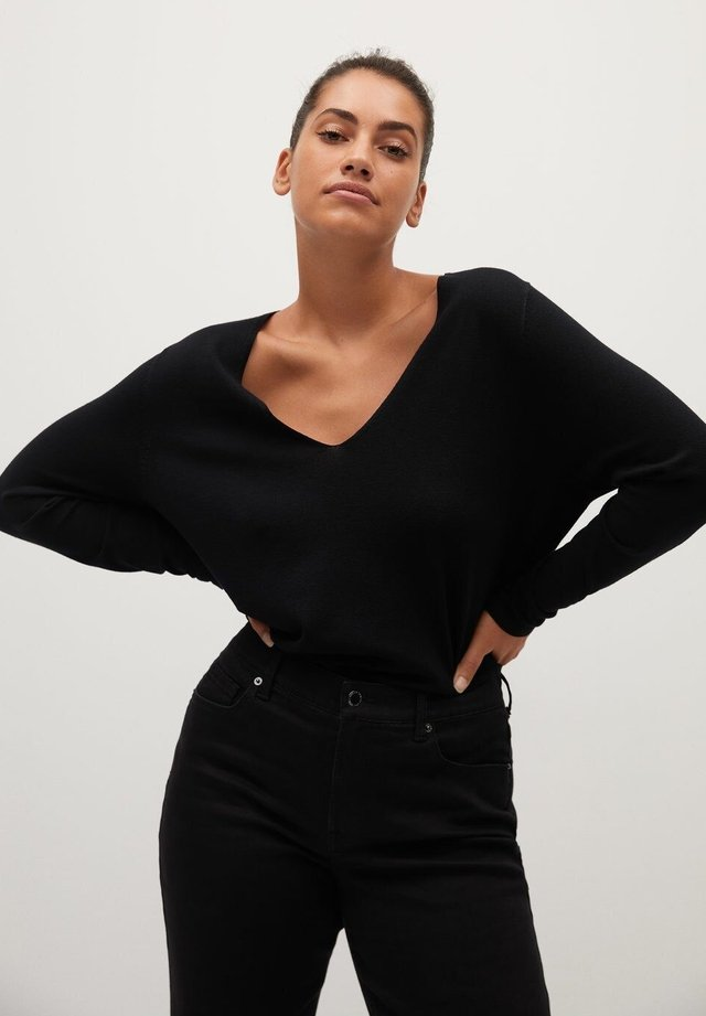 LACE - Pullover - schwarz