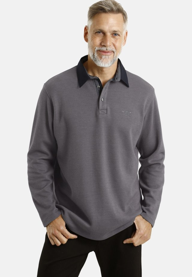OLAN - Polo shirt - grau