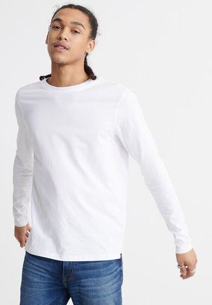 LONG SLEEVED - Long sleeved top - white