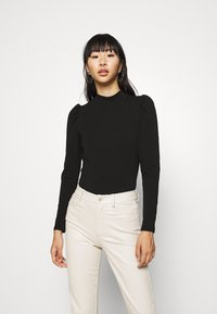 ONLY - LIVE LOVE HIGH PUFF - Long sleeved top - black - 2