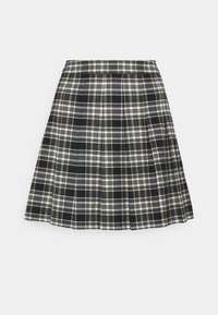 Forever New Petite - TANIA CHECK KILT - Mini skirt - green/black - 0