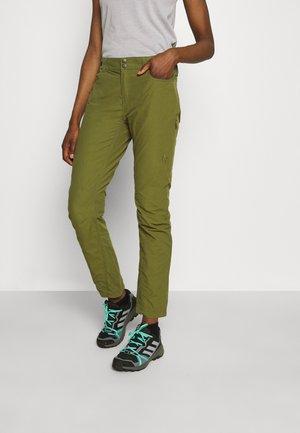 SVALBARD LIGHT PANTS - Trousers - olive drab