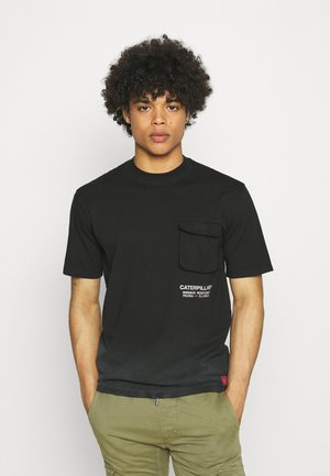WORKWEAR POCKET TEE - T-shirt med print - black