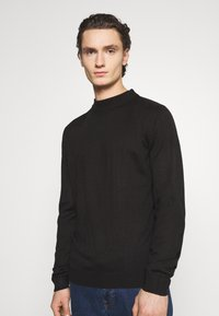 Newport Bay Sailing Club - TURTLE NECK - Stickad tröja - black - 0