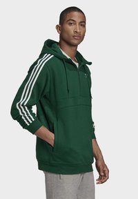 adidas Originals - STRIPES HOODIE - Hoodie - green - 2