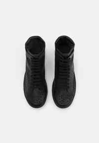 N°21 - Sneakersy wysokie - black/blue - 3