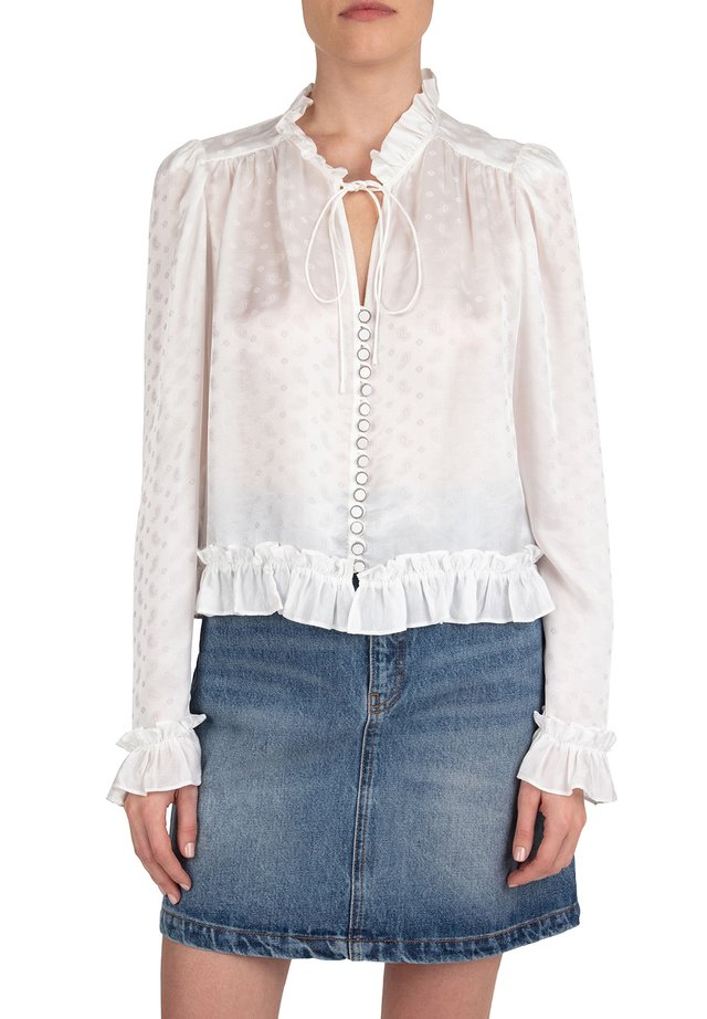 CHEMISE - Button-down blouse - ecr01