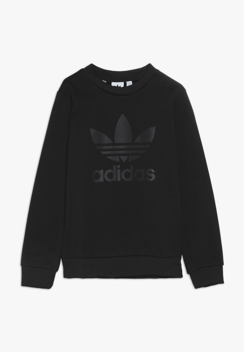 adidas Originals - DEBOSSED CREW - Sweatshirt - black