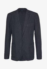 120% Lino - Blazer jacket - blue navy - 5