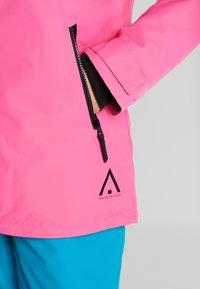 Wearcolour - CAKE JACKET - Snowboardjakke - post it pink - 8