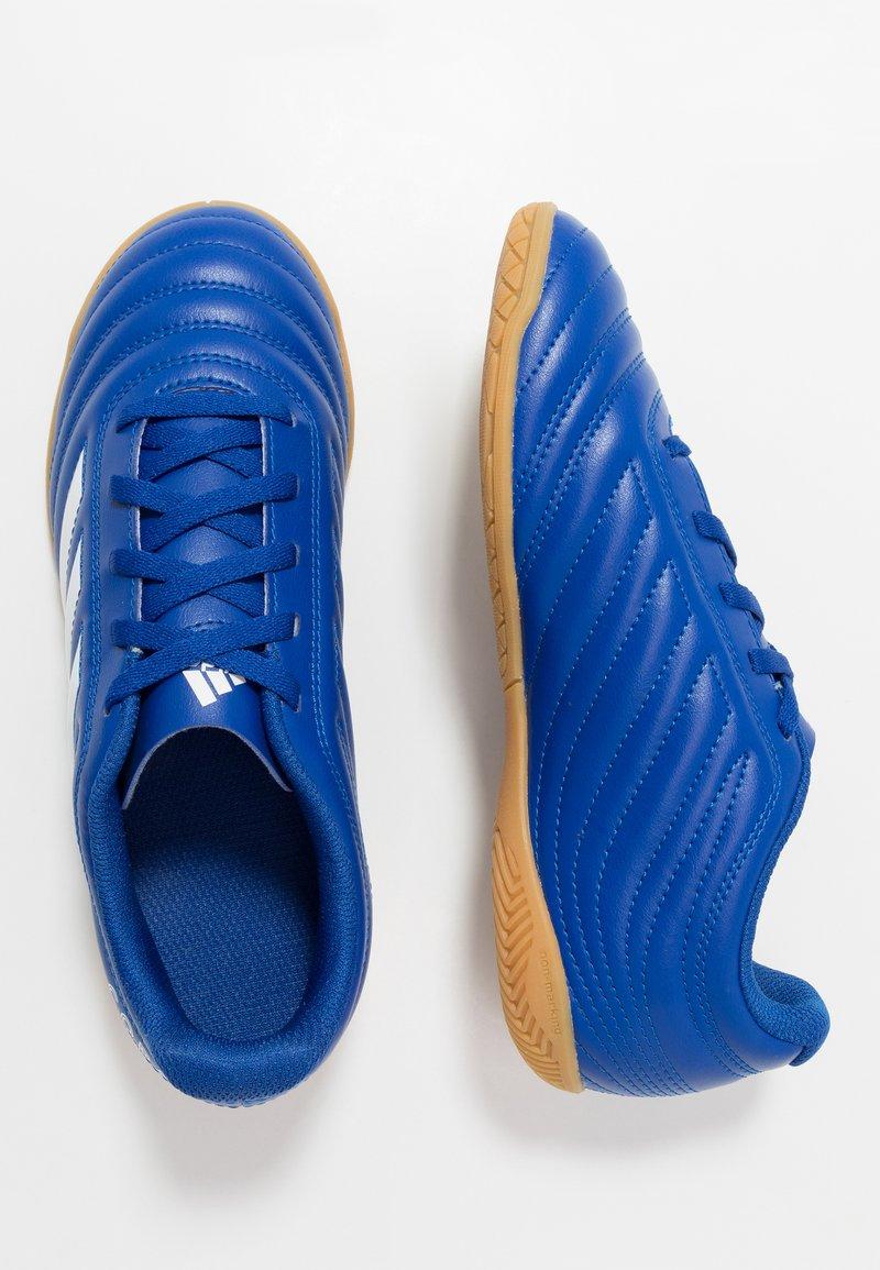 adidas Performance - COPA 20.4 IN - Halové fotbalové kopačky - royal blue/footwear white