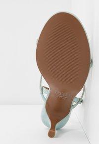 Who What Wear - ROMI - Varvassandaalit - bleached aqua - 6